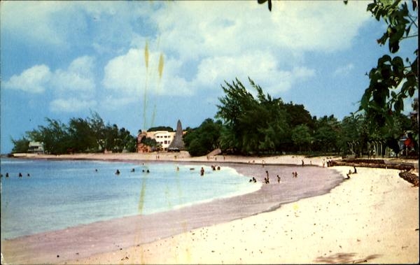 Cable Beach St. Lawrence Christchurch Barbados Caribbean Islands