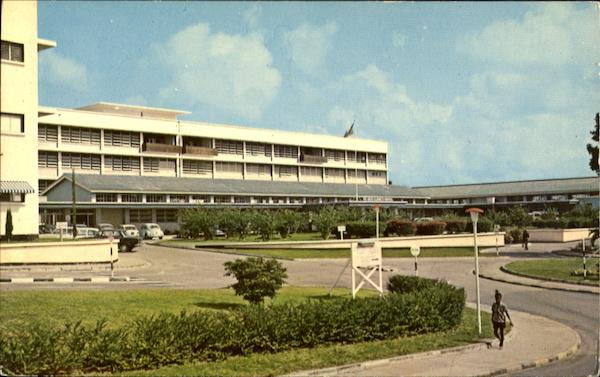 Queen Elizabeth Hospital Barbados Caribbean Islands