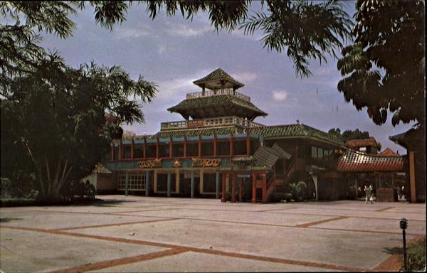A View Of The Chinese Section Of International Bazaar Freeport Bahamas