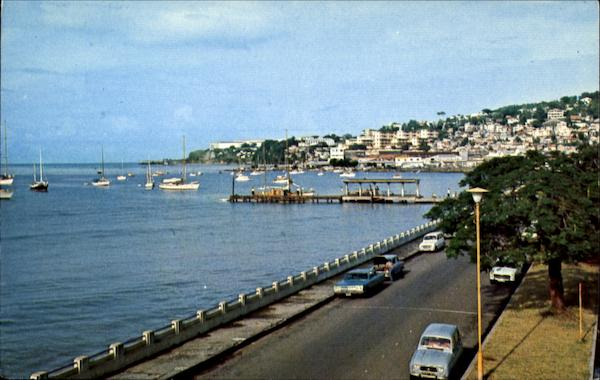 Fort De Frances Martinique Caribbean Islands