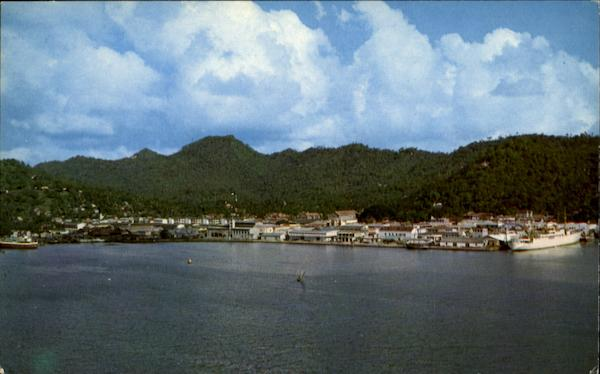 Castries Harbor Saint Lucia Caribbean Islands