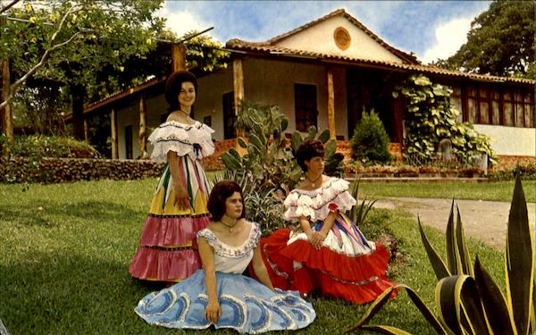Typical Costa Rican Dresses Central America
