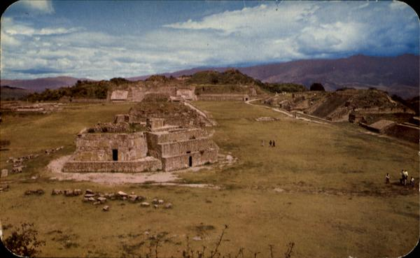 General View Of Monte Alban Mexico
