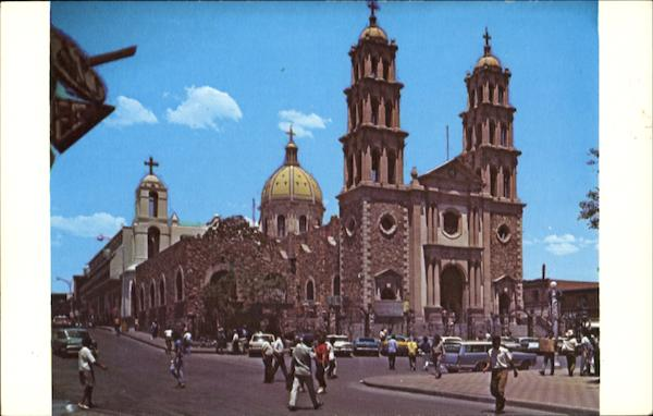 Cathedral Of Juarez City And Mission Of Our Lady Of Guadalupe Ciudad Juarez Mexico