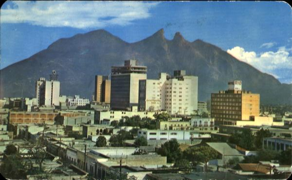 Panoramic From The Benavides Building Monterrey Mexico