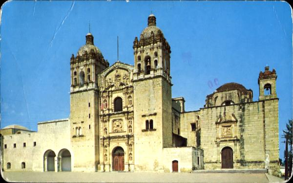 Saint Dominics Church In Oaxaca Mexico
