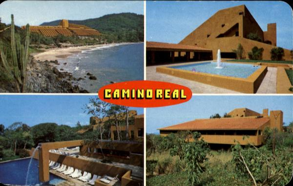 Various Aspects Of The Lxtapa Camino Real Hotel Ixtapa Mexico