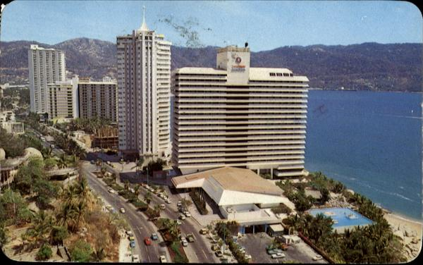 The Condesa Del Mar Hotel And Other Bldgs Acapulco Mexico