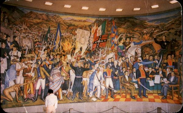 O'Gorman Mural On Mexico's Independence