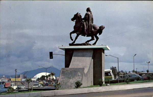 Monument To Don J. M. Morelos Y Pavon Mexico