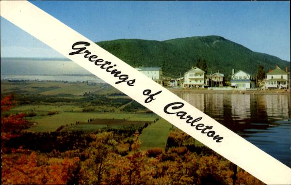 Greetings Of Carleton Canada Misc. Canada