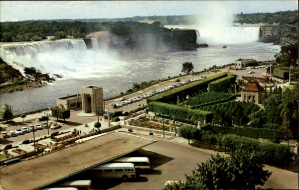 General View Of Niagara Falls Ontario Canada