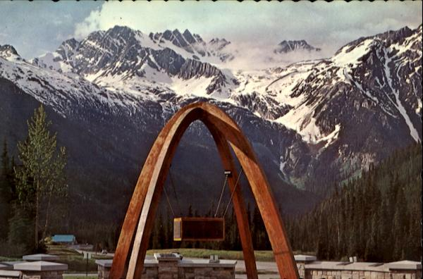 Rogers Pass Memorial Arch Canada Misc. Canada