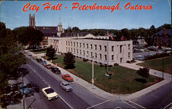 City Hall Peterborough Ontario Canada