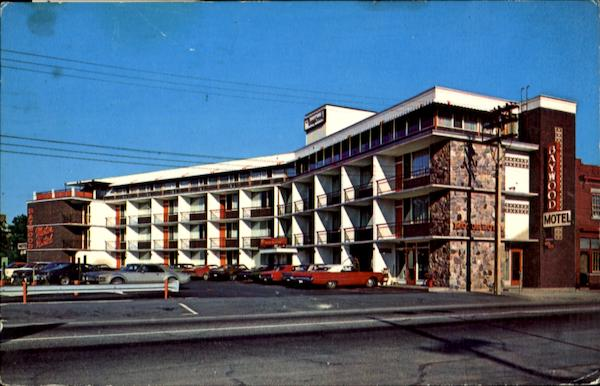 Baywood Motor Hotel 307 Algonquin Ave North Bay On Canada