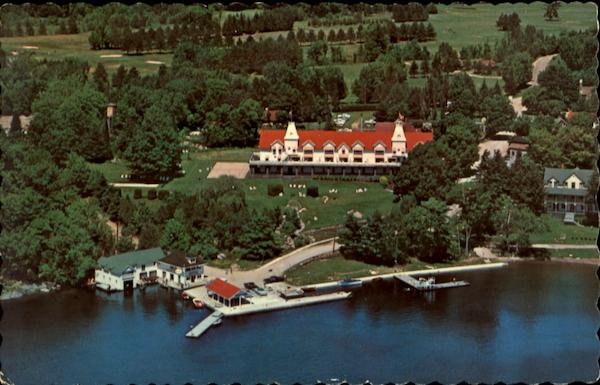 Airview Of Windermere House, Windermere Muskoka Ontario Canada