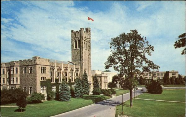 University Of Westrn Ontario London Canada