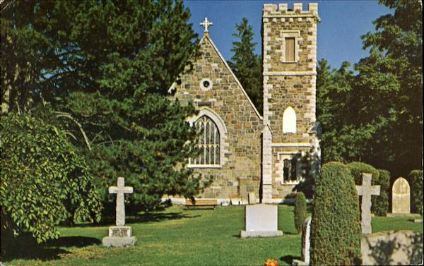 St. Georges Church, Jackson's Point Lake Simcoe Ontario Canada