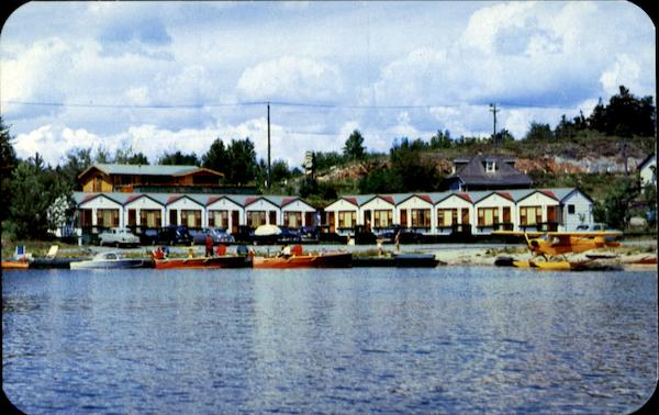 Dock And Court Units Kenora Ontario Canada