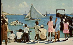 Youthful Spectators Enjoy Annual South Caicos Regatta