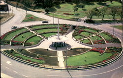 Railway Roundabout And Memorial Fountain