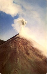 Volcano Izalco The Lighthouse Of Central America In Full Eruption