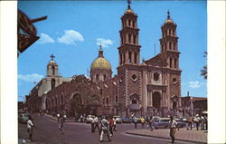 Cathedral Of Juarez City And Mission Of Our Lady Of Guadalupe Postcard