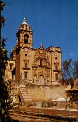 San Cayetano Church At La Valenciana Mine Postcard
