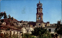 Main Square And Church Postcard