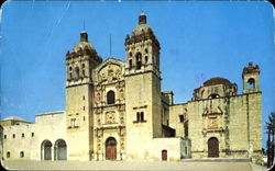 Saint Dominics Church In Oaxaca Postcard