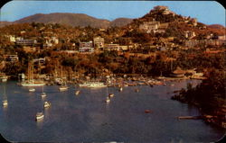 View Of Las Playas Proyect And Yatch Club Postcard