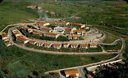 Air View Of The Luxurious Hotel El Tapatio Postcard