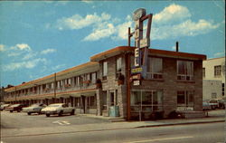 Niagara Motel, 5706 Ferry St. No. 20 Highway Postcard
