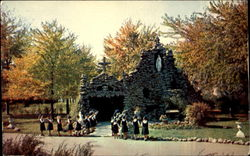 The Grotto Postcard