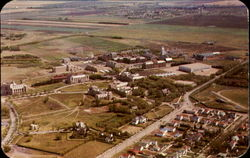 An Aerial View Of The Provincial University Of Saskatchewan