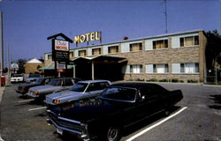 The Chalet Motel, 420 N. Christina Street Postcard