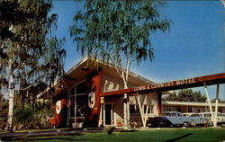 Town & Country Motel Postcard