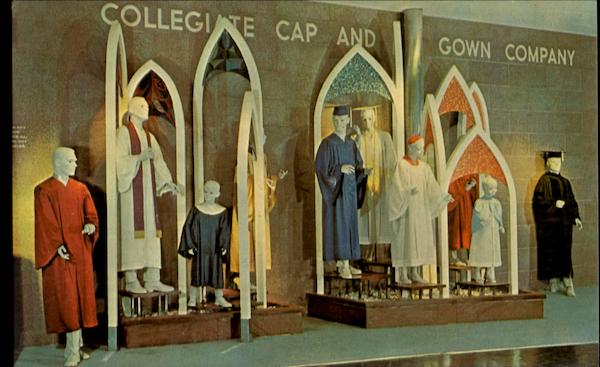 Collegiate Cap And Gown Company 1964 NY Worlds Fair