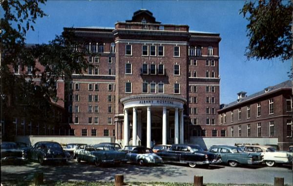 Main Building Of Albany Hospital And Medical Center New York