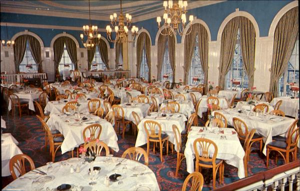 Whyte's, 57th Street Famous dining Room New York City