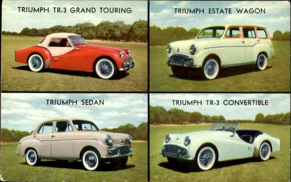 Time For Triumph Cars