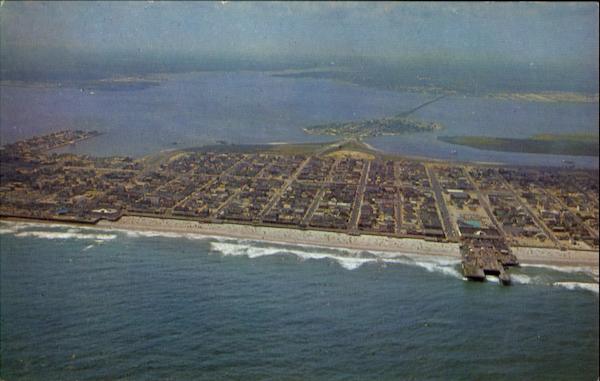 Aerial View Of Seaside Heights New Jersey