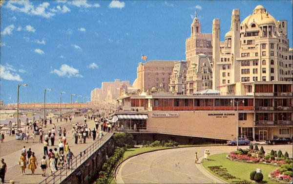 Boardwalk And Luxury Hotels Atlantic City New Jersey