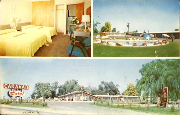 Brand New Caravan Motels Maple Shade New Jersey
