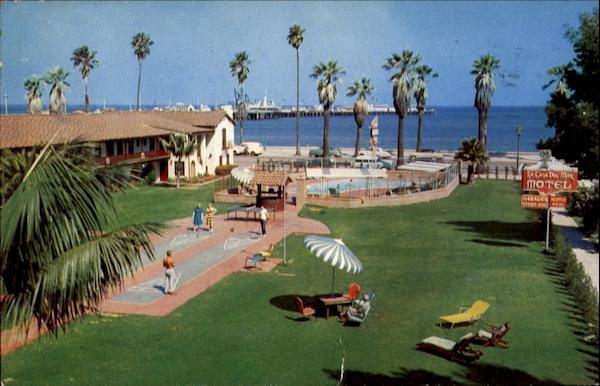 La Casa Del Mar Motel, 28 West Cabrillo Blvd Santa Barbara California