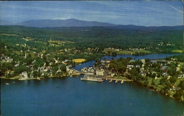 Air View Of Wolfeboro New Hampshire