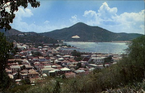 Greetings From St. Thomas Virgin Islands Caribbean Islands