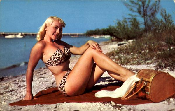 Ready For A Picnic Along Florida's Sandy Shores Swimsuits & Pinup
