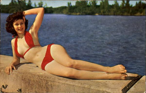 Relaxing Is Fun Swimsuits & Pinup