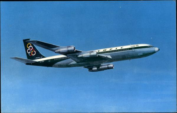 Olympic Airways Boeing 707-320 Aircraft